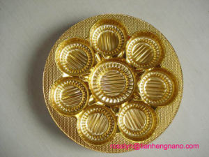 Food Grade Metallized Gold Rigid Pet Film for Blister Biscuit Trays pictures & photos