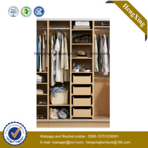 Modern Wooden Storage Bedroom Closet Wardrobe (HX-LC3081) pictures & photos