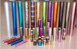 High Grade Holographic Hot Stamping Foil, Paper and Plastic Usage, Low MOQ Standard Size pictures & photos