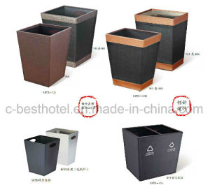 High Class Hotel Guestroom Trash Can Waste Paper Bin pictures & photos