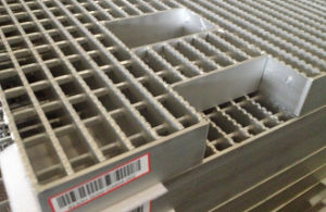 Serrated-Type Steel Grating