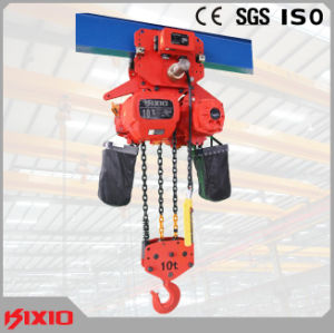 10t Kixio Type Electric Chain Hoist with Dual Speed pictures & photos