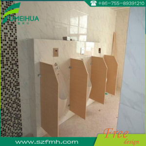 Floor Supported HPL Toilet Partitions with Accessories pictures & photos