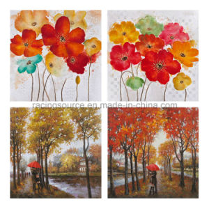 Modern Canvas Printing Wall Art Blossom Oil Canvas Painting pictures & photos