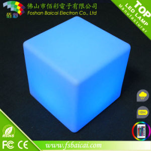 2017 16 Colour Light Flashing LED Cube Furniture LED Waterproof Pool Cube
