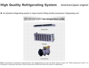 Isuzu 600p Refrigerator Truck (QL5040XLCHHARJ) pictures & photos