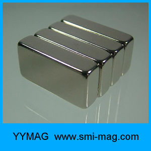 Customized N52 Strong Permanent Neodymium NdFeB Block Magnet pictures & photos