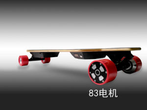 Hot Selling Four Wheels Electric Longboard Skateboard with Remote Control pictures & photos