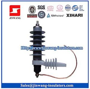 15kv Good Quality Polymeric Surge Arrester (YH5W-15L) pictures & photos