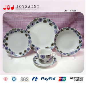 Hot Selling Promotional 14 Inch Customized China Porcelain Dinnerware pictures & photos
