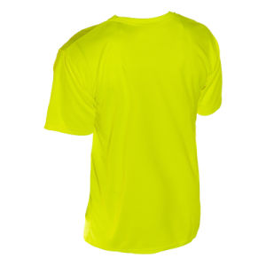 High Visibility Neon Green Fluorescent Safety Work Plain T-Shirt pictures & photos