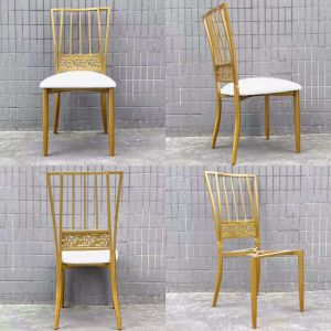 New Design Stackable Charivari Chairs for Weddings pictures & photos