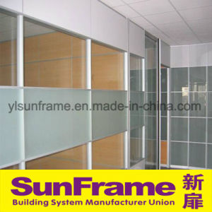 Aluminium Partition Wall with Ground Glass pictures & photos