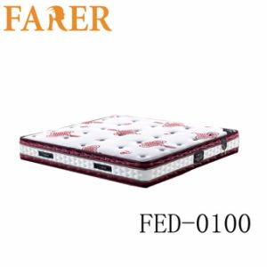 Knitted Fabric Pocket Spring Memory Foam Mattress pictures & photos