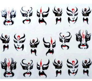 DIY Decoration Foils Decal Nail Art Stickers Nail Sticker