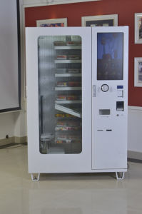 Conveyor Food Vending Machine with Touch Screen Refrigerated Function pictures & photos
