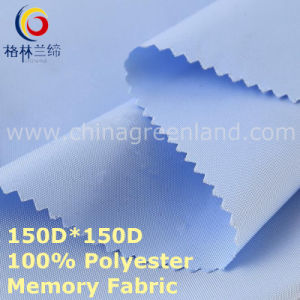 100%Polyester Memory Oxford Fabric for Garment Down Jacket (GLLML430) pictures & photos