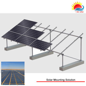 5MW Solar Panel Rail Mounting System From Aluminum Manufacturer (MD0059) pictures & photos