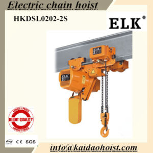 Elk 1.5ton Low Headroom Chain Hoist with Motorized Trolley--CE Certificates pictures & photos