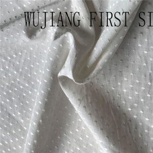 Stretch Silk Satin Jacquard Fabric pictures & photos
