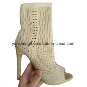 Flyknit Upper for High-Heeled Shoes pictures & photos