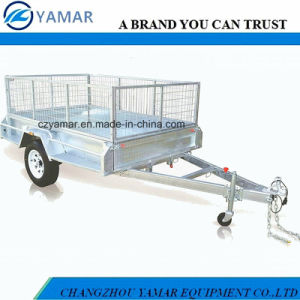7X4 Fully Welded Box Tipping Trailer pictures & photos