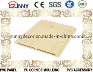 New Wood Design Flat Laminated PVC Wall Ceiling Panel, Plastic Panel, Cielo Raso De PVC pictures & photos
