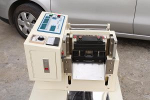 High Quality Automatic Hook & Loop Tape Cutting Machine pictures & photos