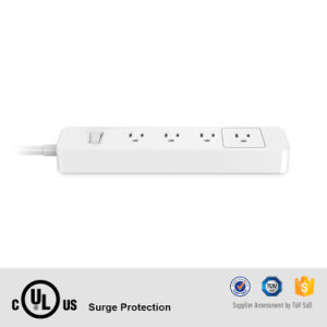 Us Relocatable Power Tap Wall Mount Surge Protector Smart for Home Appliances pictures & photos