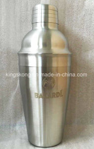 Bacardi Stainless Steel Cocktail Shaker pictures & photos