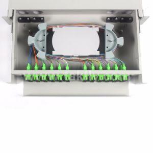 2u Fixed 48 Cores Rack-Mount Fiber Optical Distribution Frame pictures & photos