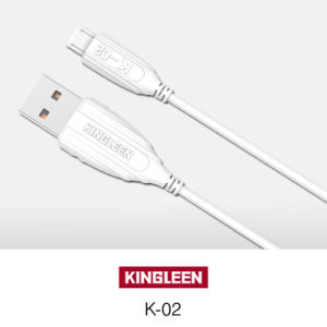 Kingleen Model K-02 Micro Data Cable 1.2m for Samsung/HTC pictures & photos