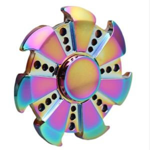 Rainbow Finger Toy Fidget Spinner Hand Spinner pictures & photos