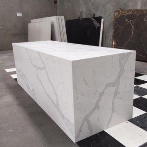 Cheap Artificial Calcatta Quartz for Kitchen Countertops or Tiles pictures & photos