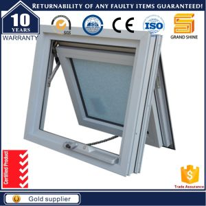 Aluminium Frame Small Decorative Soundproof Awning Window with Crank pictures & photos