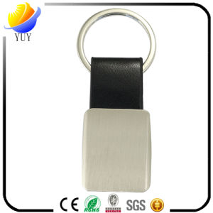 Fashion Promotional Black Leather Key Chain pictures & photos