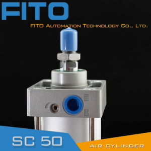 Sc50 Series Standard Air Pneumatic Cylinder ISO6430 Airtac Spare Parts pictures & photos