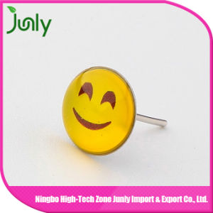 Cute Smile Face Cheap Plastic Girl Emoji Earrings pictures & photos
