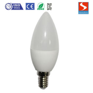 LED Candle Bulb White 3W with E14 Base pictures & photos