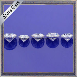 Excellent Grade Forever Brilliant Various Size White Round Cut China Moissanite pictures & photos
