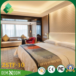 Environmental Wood Bedroom Furniture Set of Hotel Furniture (ZSTF-10) pictures & photos