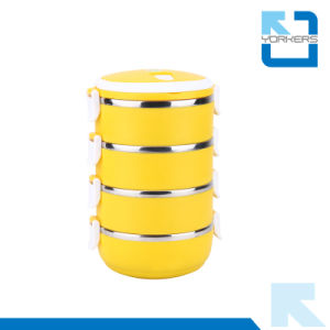 Hot Sell Stainless Steel Food Storage Container & Lunchbox with PP Lid pictures & photos