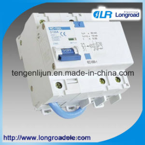 Nc100L Residual Current Circuit Breaker with Over Current Protection pictures & photos