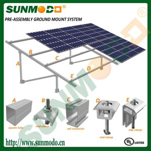 Pre-Assemble Solar Mounting Structure System pictures & photos