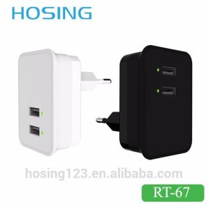 Mobile Phone EU Plug USB Travel Wireless Charger for Samsung iPhone pictures & photos