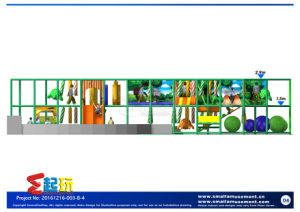 Innovation Play Indoor Playground with Big Ocean Ball Pool pictures & photos