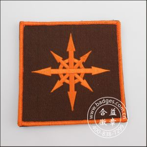 Custom Embroidery Woven Patch with Threading Logos (GZHY-PATCH-006) pictures & photos