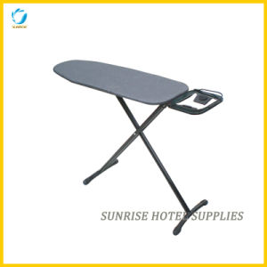 Hotel Use Black Ironing Board with Quick Release Mechanism pictures & photos