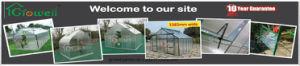 Aluminium Hobby Garden Greenhouse (SW608) pictures & photos