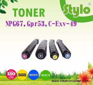 Copier Toner Cartridge C-Exv49 Npg67 Gpr53 for Canon Printer Consumable pictures & photos